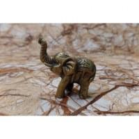 Eléphant mini doré