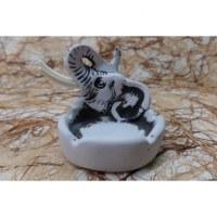 Cendrier tête d'éléphant