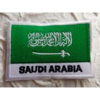 Ecusson drapeau Arabie Saoudite