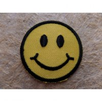 Petit patch smiley