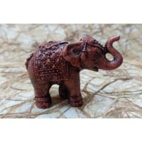 Eléphant Chang rouge cuivre