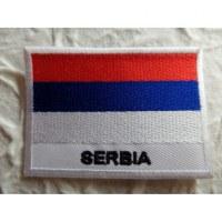 Ecusson drapeau Serbie