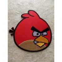 Patch Angry bird Red