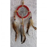 Petit dreamcatcher rouge yaki