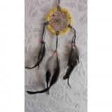 Petit dreamcatcher yaki jaune