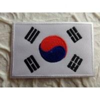 Ecusson drapeau Corée de Sud
