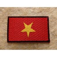 Ecusson drapeau vietnamien