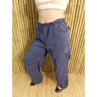 Pantalon zippy bleu