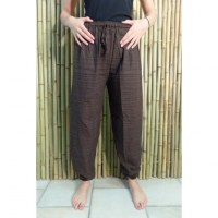 Pantalon Ranong marron