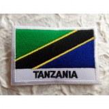 Ecusson drapeau Tanzanie