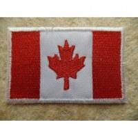 Ecusson drapeau canadien