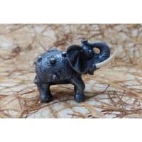 Eléphant Sukhothaï gris