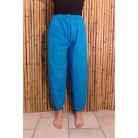 Pantalon Ranong bleu turquoise