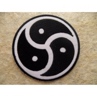 Patch triple yin yang