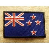 Ecusson drapeau nouvelle Zélande