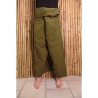Pantalon Thaï Katmandou vert mousse