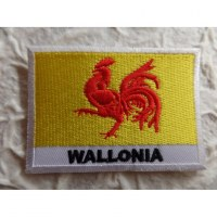 Ecusson drapeau Wallonie