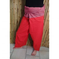 Pantalon thaï Pattaya uni orange