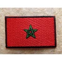 Ecusson drapeau marocain