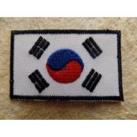 Ecusson drapeau de la Corée du Sud