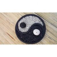 Mini jardin zen yin yang
