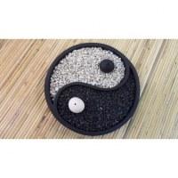 Mini jardin zen 2 yin yang