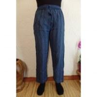 Pantalon Gandaki bleu/mauve