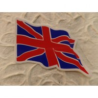 Autocollant drapeau Union Jack flottant