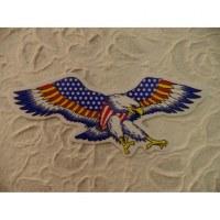 Autocollant aigle américain