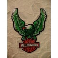 Autocollant aigle Harley Davidson