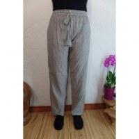 Pantalon Gandaki blanc/noir