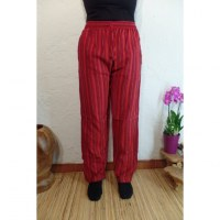 Pantalon Gandaki rouge