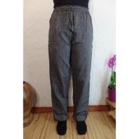Pantalon Gandaki noir/gris