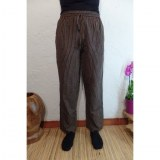 Pantalon Gandaki noir/jaune/vert/rouge