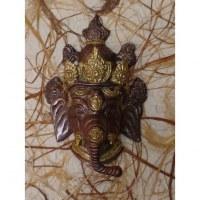 Ganesh doré/cuivré
