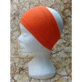 Bandeau uni orange