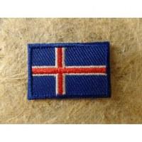 Mini écusson drapeau Islande