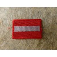 Mini écusson drapeau Autriche