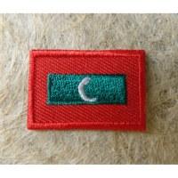 Mini écusson drapeau Maldives