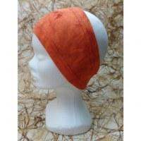 Bandeau orange effet marbré