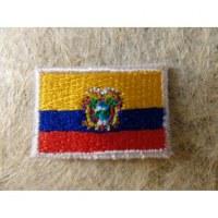 Mini écusson drapeau Equateur