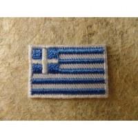 Mini écusson drapeau Grèce