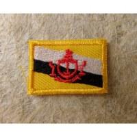 Mini écusson drapeau Bruneï