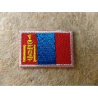 Petit écusson drapeau Mongolie