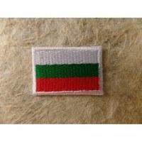 Mini écusson drapeau Bulgarie