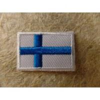 Mini écusson drapeau Finlande