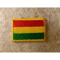 Mini écusson drapeau Bolivie
