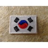 Mini écusson drapeau Corée de Sud
