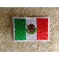 Mini écusson drapeau Mexique