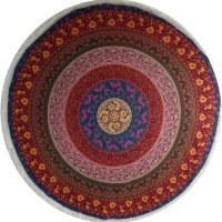 Tenture florale color